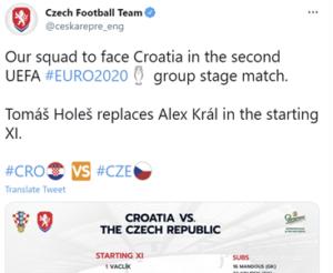 Crotati v THE Czech Republic